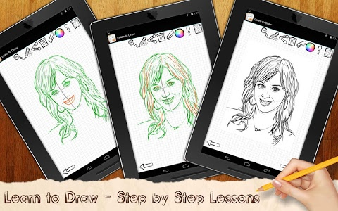 Download Drawing Lessons Celebrities 1.01 APK