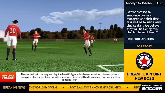 screenshot of Dream League Soccer 2018 version 5.062