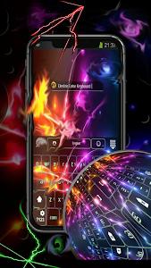screenshot of Keyboard Electric Color version 4.8