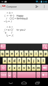 Download Emoticon Keyboard With Emoji 3052 APK