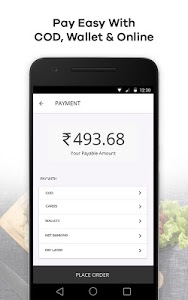screenshot of FAASOS - Order Food Online version 5.7.5