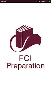 screenshot of FCI Preparation version 1.5