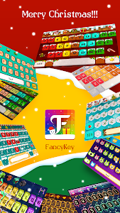 screenshot of FancyKey Keyboard - Free Emoji version 2.1