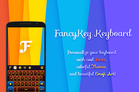 screenshot of FancyKey Keyboard - Cool Fonts version 3.8