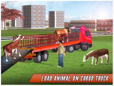 screenshot of Farm Animal Transport Truck version 1.9