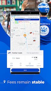 screenshot of FastGo.mobi - Ride-hailing Application version 1.1.190122_45