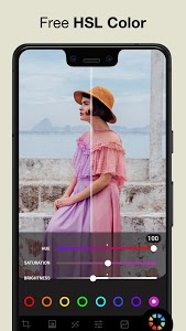 screenshot of Filters for pictures - Lumii version 1.052.10