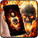 Download Flame theme burn fire skull 1.1.3 APK