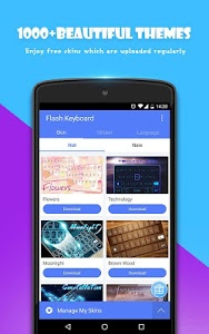 Download Flash Keyboard - Emoji & Theme 1.0.20216.0928 APK