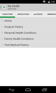 screenshot of FollowMyHealth® version 2.6