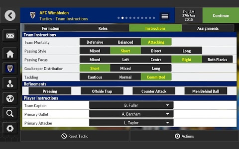 Download Football Manager Mobile 2016 7.1 APK