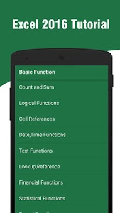 Download Learn Excel 2016 1.9.5 APK