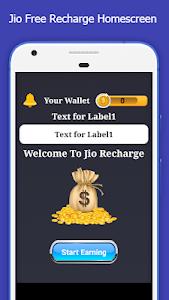 screenshot of Free Jio Recharge version 1.5
