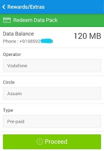 screenshot of Free PayTM cash and recharge version 1.6
