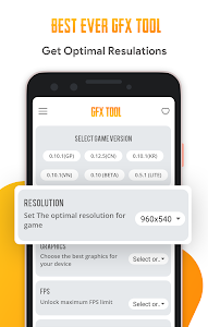 screenshot of GFX Tool For Pubg Wallpapers version 8.0