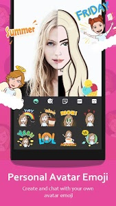 Download GO Keyboard - Cute Emojis, Themes and GIFs 3.53 APK