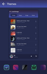 screenshot of GO Music - Free Music, Equalizer, Themes version 3.6.2