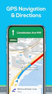 screenshot of GPS Navigation - Map Locator & Route Planner version 4.0