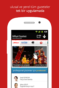 screenshot of Sanal Basın Gazeteler version 2.3.5