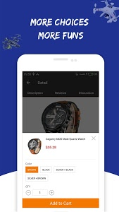 screenshot of Gearbest Online shopping version 2.1.0