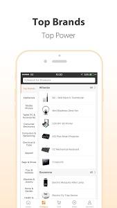 screenshot of GearBest Online Shopping version 3.9.0