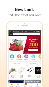 screenshot of GearBest Online Shopping version 3.4.0