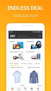 screenshot of Gearbest Online shopping version 2.5.0