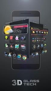 Download Glass Tech 3D Live Theme 1.0 APK