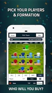 screenshot of Goal Fantasy Football version 4.0.2