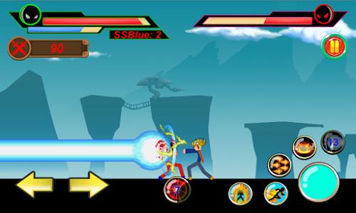 screenshot of God of Stickman 3 version 1.1