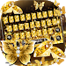 Download Gold Butterfly Keyboard Theme 10001005 APK