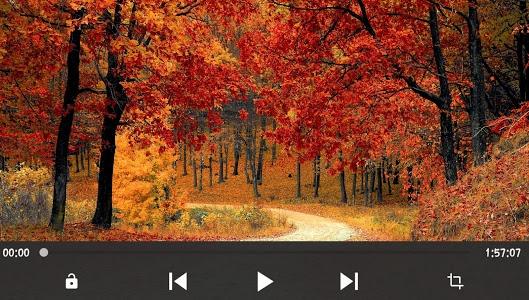 screenshot of HD Video Player version 1.1