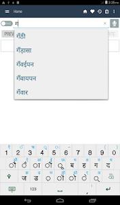 screenshot of Hindi Dictionary Offline version neutron