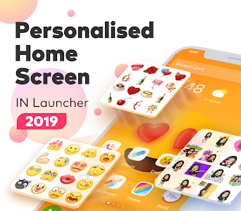 Download IN Launcher - Love Emojis & GIFs, Themes 1.0.6 APK