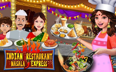 Download Indian Food Restaurant Kitchen Story Cooking Games 1.0.9.2 APK