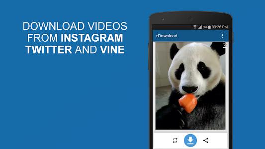 screenshot of +Download 4 Instagram Twitter version 5.10