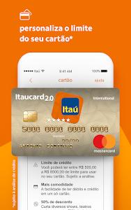 screenshot of Itaú abreconta version 1.1.43