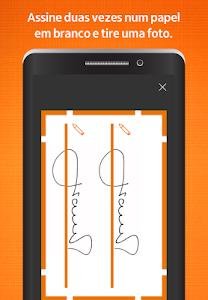 screenshot of Itaú abreconta version 1.0.93