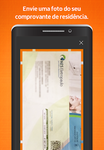 screenshot of Itaú abreconta version 1.0.95