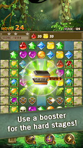 screenshot of Jewels Jungle : Match 3 Puzzle version 1.4.6