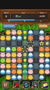screenshot of Jungle Match Puzzle version 1.1.7