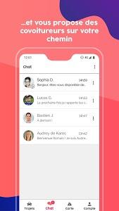 screenshot of Karos - covoiturage quotidien version 7.0.1