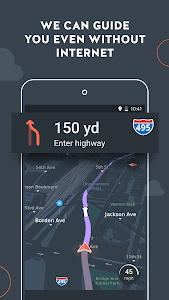 screenshot of Karta GPS - Offline Navigation version 2.9.05