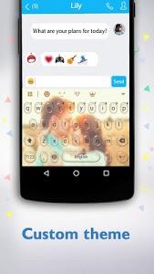 screenshot of Keyboard version 3.1.8