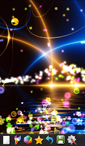 screenshot of Kids Glow - Doodle with Stars! version 2.0.4