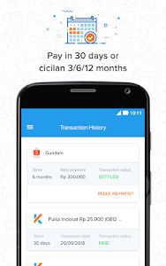 screenshot of Kredivo - Installment Without Credit Card and Loan version 3.0.5