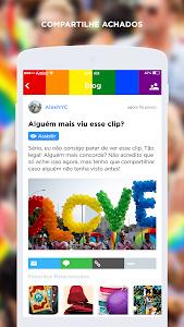 screenshot of LGBT Amino em Português version 1.8.19820