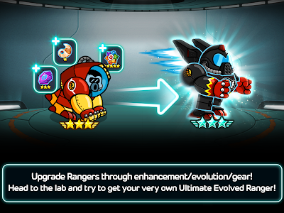 screenshot of LINE Rangers version 4.4.2