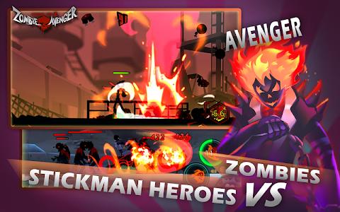 screenshot of Zombie Avengers-(Dreamsky)Stickman War Z version 2.5.0