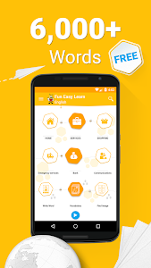 screenshot of Learn English Vocabulary - 6,000 Words version 5.43